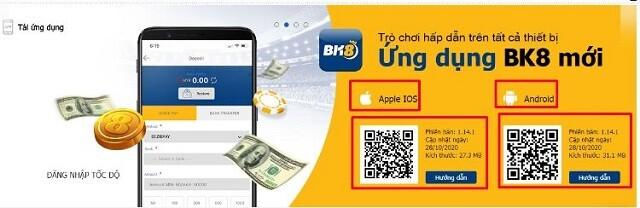 Tải app BK8 để có trải nghiệm tốt hơn